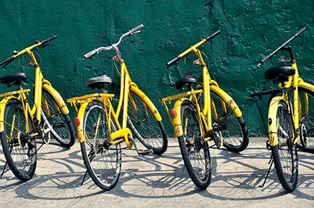 Power Coated Bicycles
